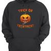 Trick Or Treatment Halloween Unisex Hoodie