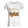 Witch sunflower It's fall y'all Women's Shirt