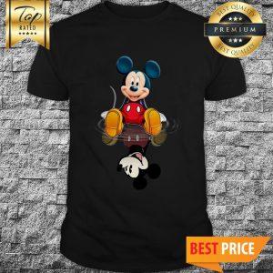 Mickey Present Water Mirror Reflection Shirt