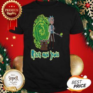 Good Rick And Yoda Shirt