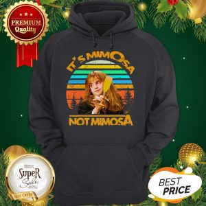 Official Harry Potter It's Mimosa Not Mimosa Vintage Hermione Hoodie