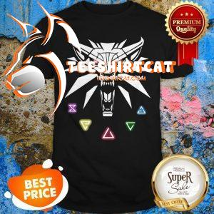 Official The Witcher Wild Hunt Enamel Pin Shirt