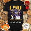 LSU Tigers 2020 National Championship 1958 2003 2007 2019 Shirt