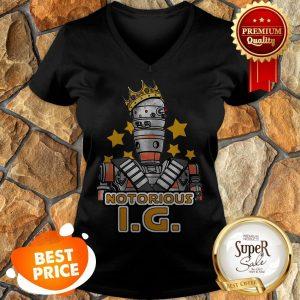 Notorious IG-11 Mashup Notorious B.I.G. Star Wars V-neck