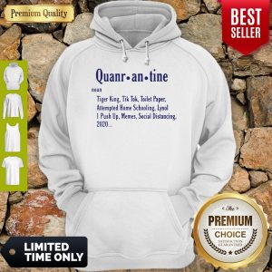 Awesome Quarantine Definition Hoodie