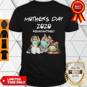 Top Shih Tzu Mother's Day 2020 #Quarantined Shirt