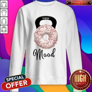 Doughnut Fitness Mood Sweatshirt