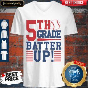 Tennis 5th Grade Batter Up V-neck