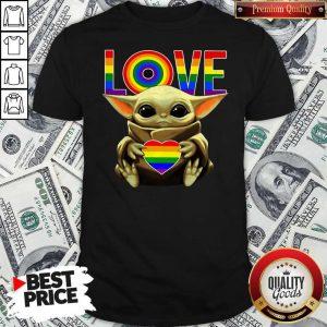 Top LGBT Love Baby Yoda Shirt