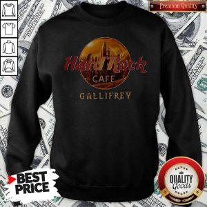 Top Hard Rock Cafe Gallifrey Sweatshirt