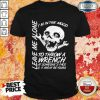 I'm In The Mood To Throw A Wrench At Someone's Face And It Might Be Yours Leave Me Alone Halloween Shirt