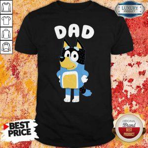 Awesome Bluey Dad Shirt