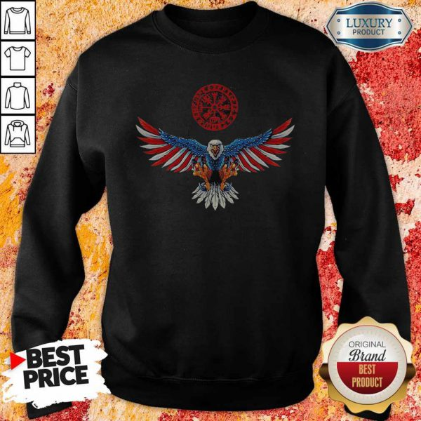 Perfect Independence Day Eagles Halloween Sweatshirt
