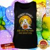 Forget Candy Just Give Me Mask And Sanitizer Dog Boo Ghost Trick Or Treat Halloween Tank Top