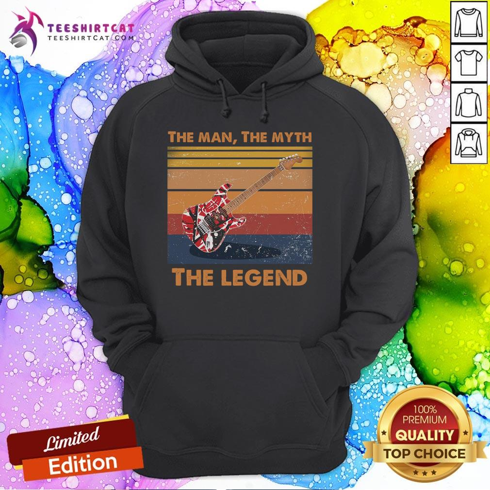 Perfect Guitar The Man The Myth The Legend Vintage Hoodie - Design By Teeshirtcat.com