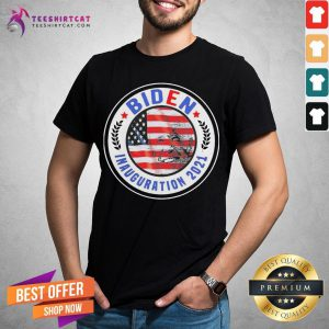 Top Biden Inauguration 2021 American Flag Shirt - Design By Teeshirtcat.com