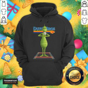 The Grinch Drink Dutch Bros Coffee Christmas Hoodie- Design By Teeshirtcat.com