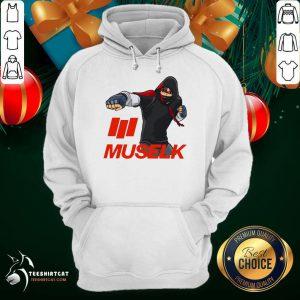 Muselk Punch Red Hoodie - Design By Teeshirtcat.com