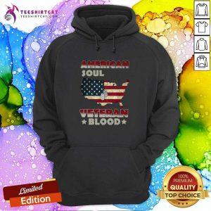 American Flag Soul Veteran Blood Hoodie