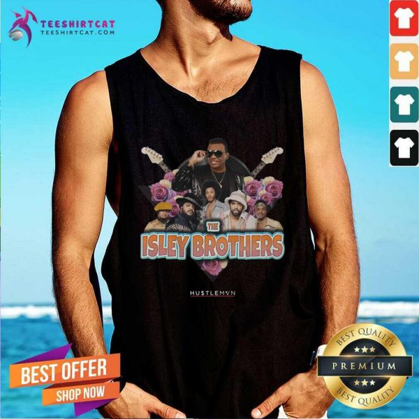 Official The Isley Brothers Hustlemvn Tank Top
