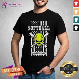 Softball Dad Daughter League Shirt